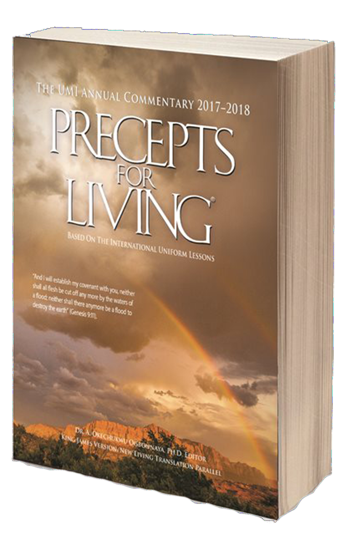 ... understanding, and application of the Bible deeper with the 2017-2018  Precepts for Living annual Bible commentary and the Personal Study Guide.
